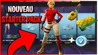 NEW STARTER PACK DISPONIBLE NOW IN FORTNITE BOUTIQUE [FR/PS4/LIVE]