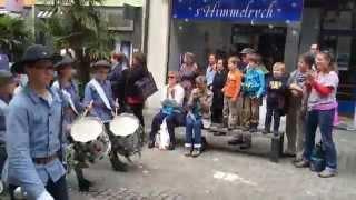 Lenzburger Jugendfest 2014 Umzug Tambouren Kadetten