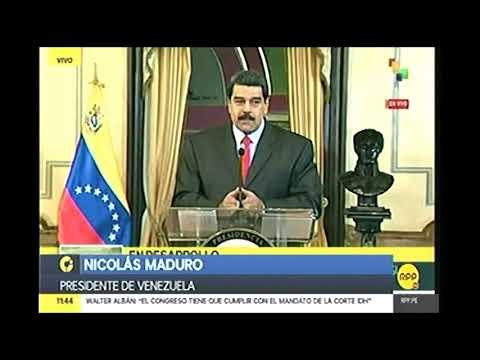 RPP   PRESIDENTE DE VENEZUELA ASISTIRA A CUMBRE DE LAS AMERICAS