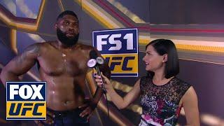 Curtis Blaydes talks to Megan Olivi post-fight   INTERVIEW   UFC 221
