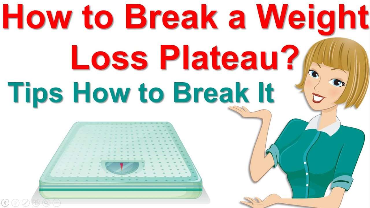 How to Break a Weight Loss Plateau ? Tips How to Break It - YouTube