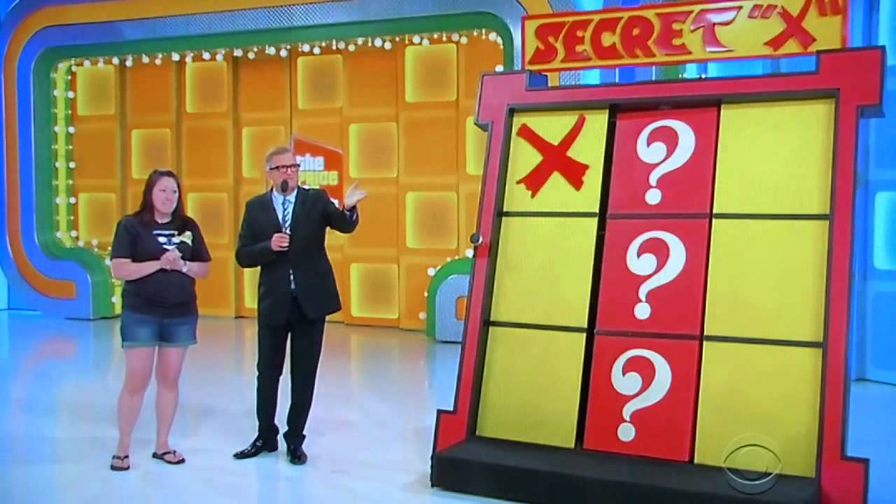 The Price Is Right Secret X