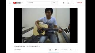 Guitar- Tình yêu thầm kín