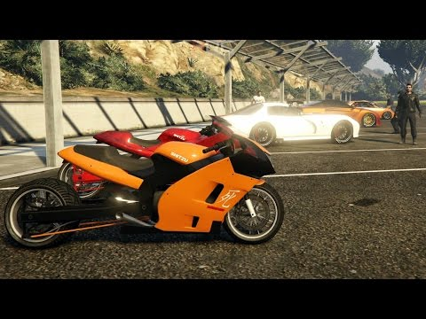 Grand Theft Auto V Online (PS4) | Street Car/Bike Meet Pt.2 | Turbo Drag Busa, Drag Racing & More