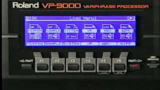 2000 Roland VP-9000 Variphrase Demo Video
