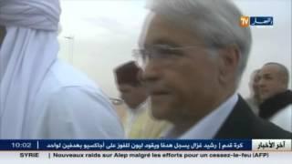 أدرار : زاوية الشيخ مولاي الرقاني وجهة وزير الطاقة الأسبق شكيب خليل