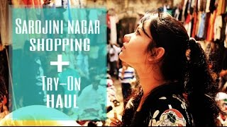 Sarojini Nagar Shopping + Try On Haul | ThatQuirkyMiss