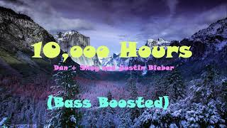 Gambar cover Dan + Shay and Justin Bieber - 10,000 Hours (Bass Boosted)