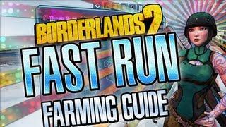 Borderlands 2 The Fast Run farming guide