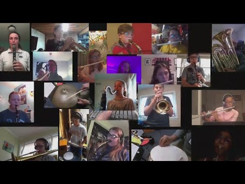 Bettendorf Middle School students put on virtual concert