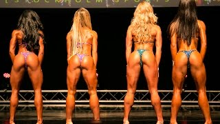 Bikini Fitness Pros I-Walks - IFBB Stockholm Pro