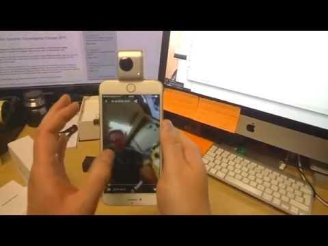 Обзор камеры Insta360 Nano [панорамная 360 градусов для iPhone]