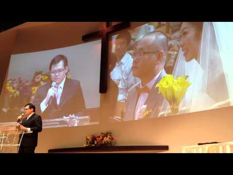 Edgar's speech at Liren & Weili's wedding