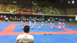 Japura TKD Aerobics - 2017 Kukkiwon Cup Srilanka - Silver medol