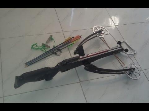 Armbrust selber bauen, Homemade Compound Crossbow - #03  Doovi