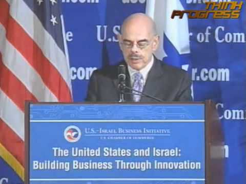 Rep. Waxman Confronts Chamber On Foreign Funds, Secret Corporate Campaign Money