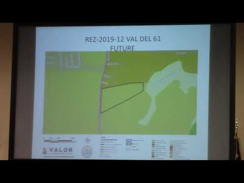 6b. REZ-2019-12 Val Del 61, Val Del Road R-1 to P-D 28.436 acres