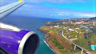 Monarch Airbus A321-231   London Gatwick to Madeira *Full Flight*