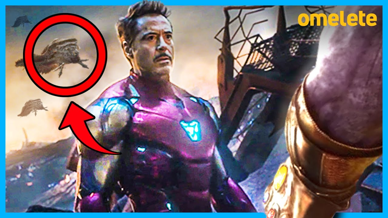 10 EASTER EGGS DE VINGADORES: ULTIMATO | Omelista