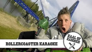 #1 Rollercoaster karaoke  | Pretpark Walibi