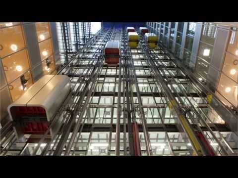 Лахта центр. Какие типы лифтов будут использоваться в здании?