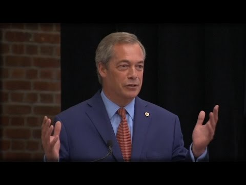 NIGEL FARAGE RESIGNS AS UKIP LEADER