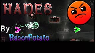 """""""Hades"""" (Daily Level) 100% [No Coins] by BaconPotato   Geometry Dash [2.11] Video"""