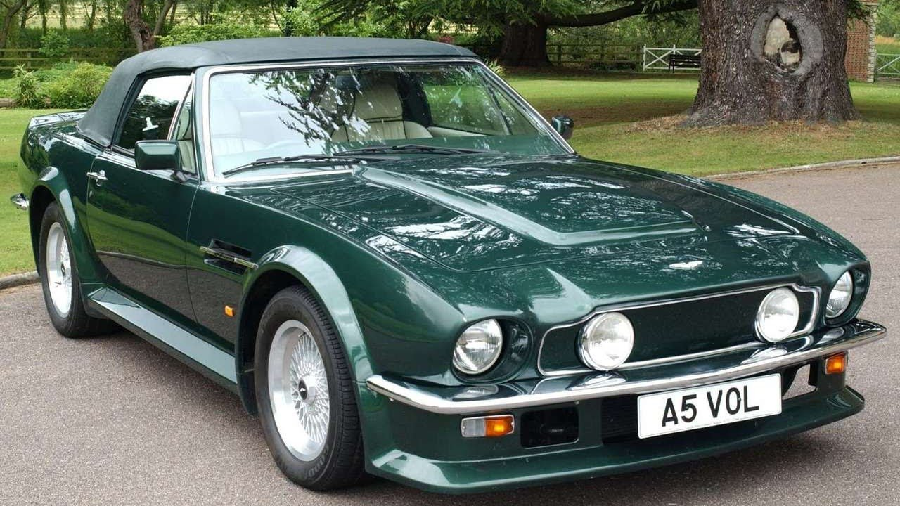 Aston Martin V Vantage Volante YouTube - 1986 aston martin vantage