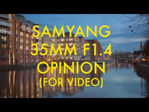 Samyang/Rokinon 35mm F1.4 Opinion (For Video) - Cinematic Style With A Major Flaw