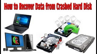 How to Recover Files from Crashed Computer HDD | Unbootable Hard Disk | Blue Screen - Hindi