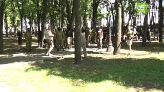 Перестрелка в центре Харькова: проукраинские активисты штурмуют офис