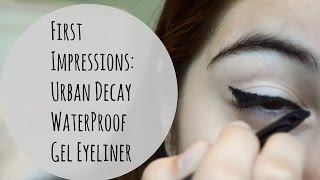 First Impressions of Gel Liner: Urban Decay Perversion WaterProof Gel Liner Thumbnail