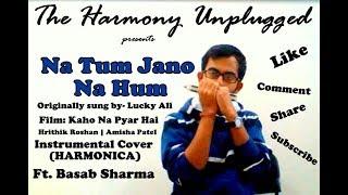 Na Tum Jano Na Hum || Kaho Na Pyar Hai || Lucky Ali || Instrumental Cover (Harmonica) || Feat. Basab