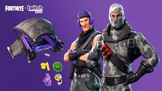 Fortnite Twitch Prime Pack   Preview & Gameplay   SUB COMMANDER & HAVOC OUTFIT