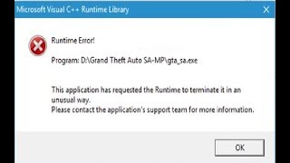 Runtime Eroor. Решение проблемы. Что делать если выдается ошибка Runtime Error