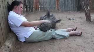 Gertjie enjoying snuggle time