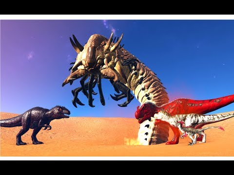 Giganotosaurus vs all Alpha Predators || ARK: Survival Evolved