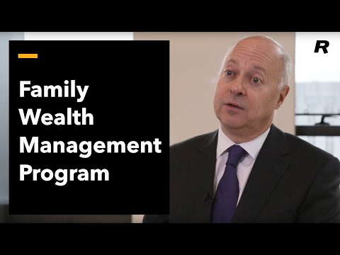 Rotman's Family Wealth Management Program
