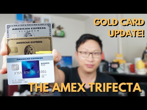 Amex Trifecta: Best System For MR Points (Gold Card Update)
