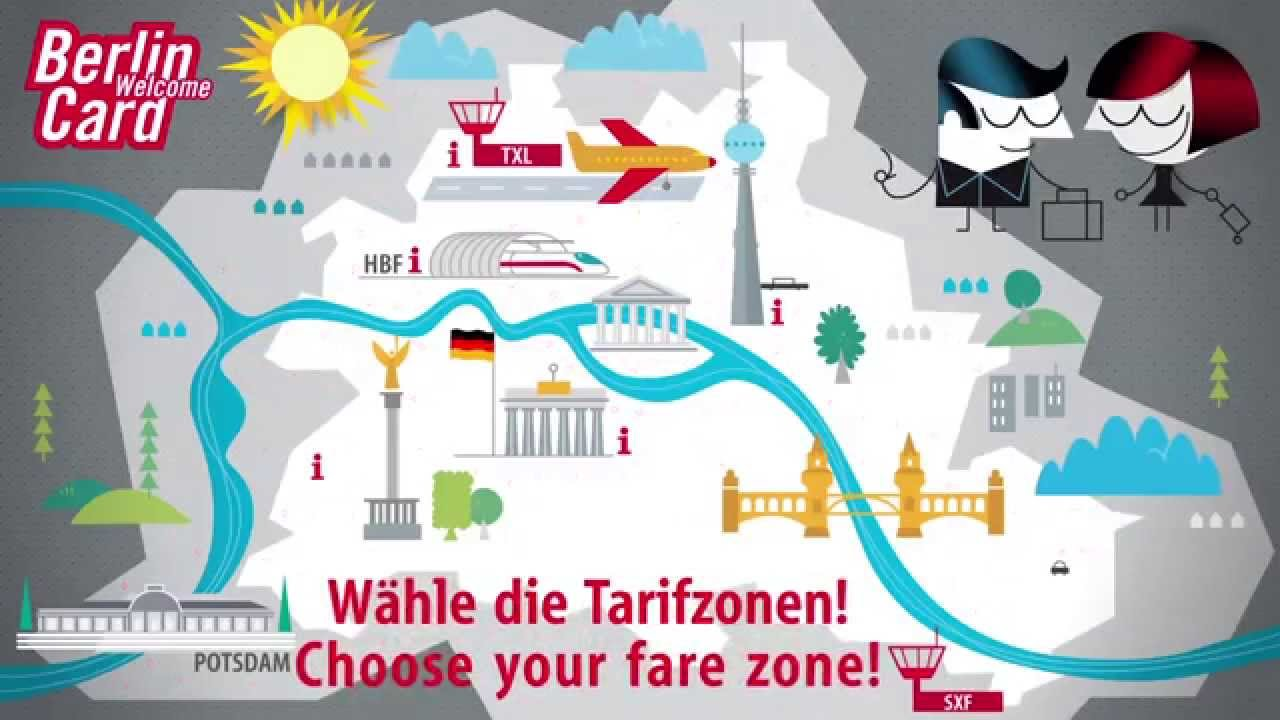 How To Get Around In Berlin Get The Berlin Welcome Card Youtube