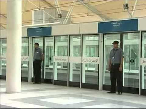 Monorail,metro,train,railroad,mekkah 2011