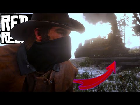 Red Dead Redemption 2 PC [60 FPS] Gameplay 4 - Time To Rob A Train!