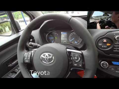 Spiegel Toyota Yaris : Toyota yaris hybrid team d uhd mijia k youtube