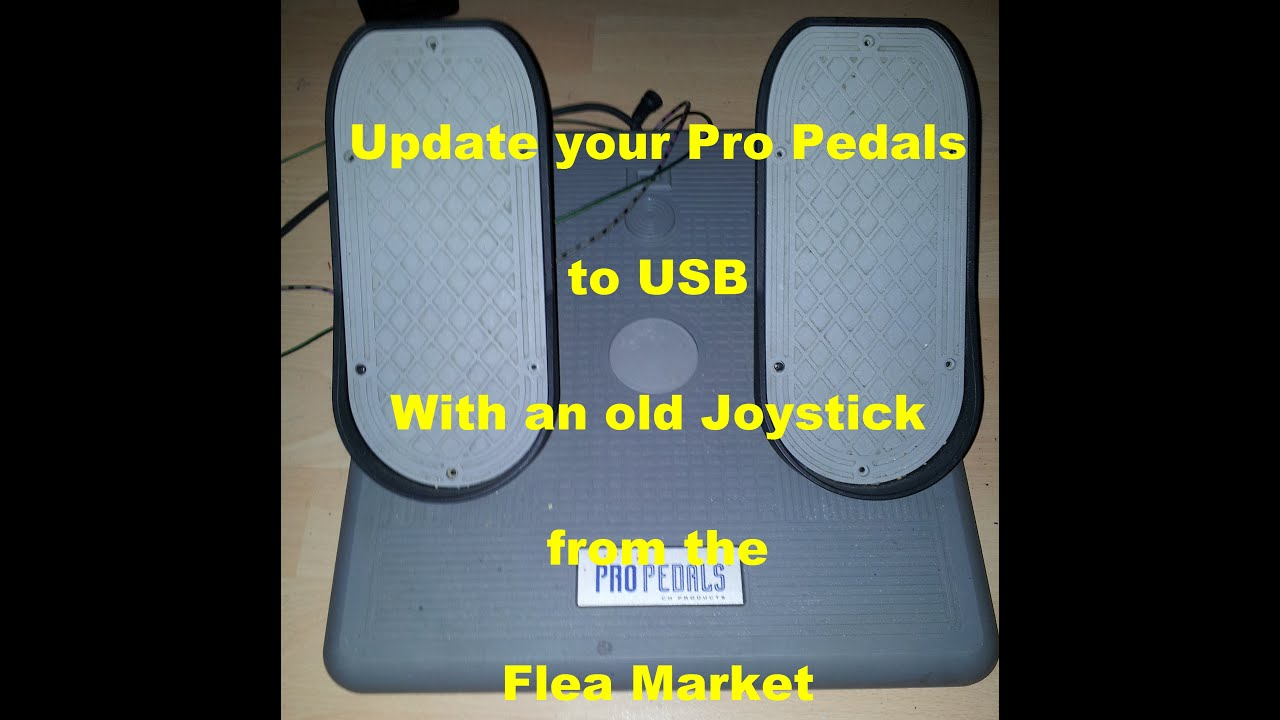 [DIAGRAM_38DE]  Updating Pro Pedals from Gameport/RS232 to USB - YouTube | Ch Pro Pedals Usb Wiring Diagram |  | YouTube