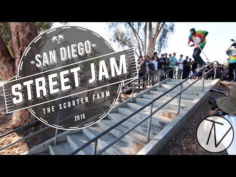 Scooter Farm's San Diego Street Jam 2015 │ The Vault Pro Scooters