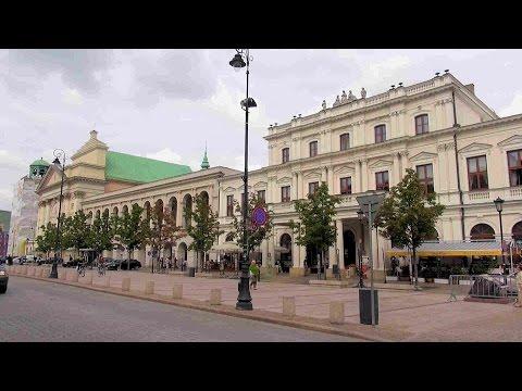 Krakowskie Przedmieście (the street), Warszawa, Polska (Warsaw, Poland) [HD] (videoturysta)
