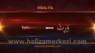 Arapça / Arapça Eğitimi / Misel Fiil - Ecvef Fiil Uygulama Video - 1