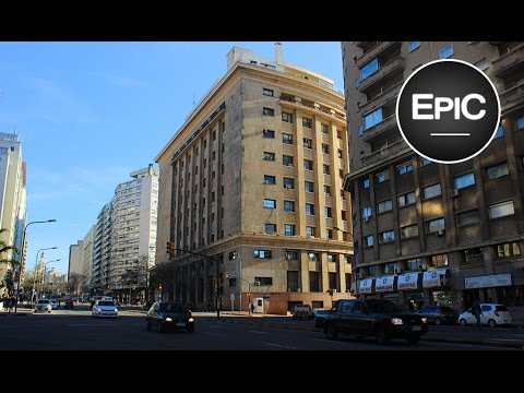 Avenida Libertador / Libertador Ave. - Montevideo, Uruguay (HD)