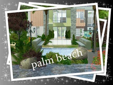 sims 3 building palm beach