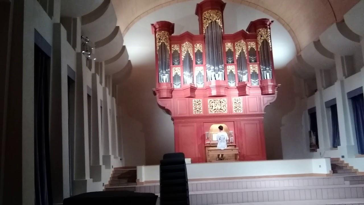 Bach Great G Minor Fugue ASU Fritts Organ
